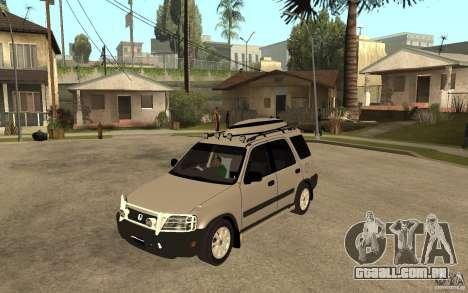Honda CRV 1997 para GTA San Andreas