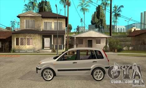 Ford Fusion 2009 para GTA San Andreas esquerda vista