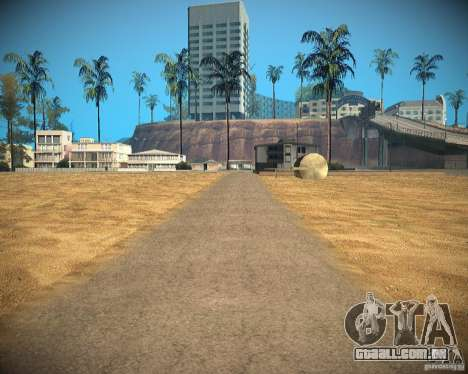 New textures beach of Santa Maria para GTA San Andreas décimo tela