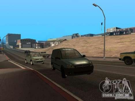 Opel Combo 2005 para GTA San Andreas esquerda vista