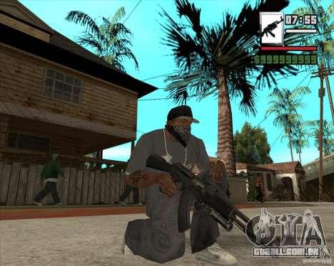 AK47 with GP-30 para GTA San Andreas terceira tela