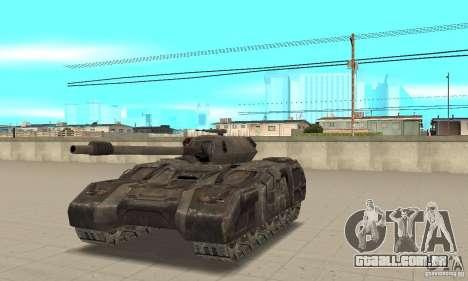 Rhino Tank-UT para GTA San Andreas