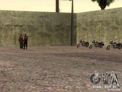 A escola realista motociclistas v 1.0 para GTA San Andreas quinto tela