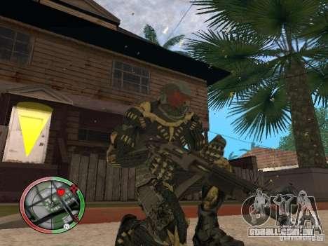 Coleção de armas de Crysis 2 para GTA San Andreas sétima tela