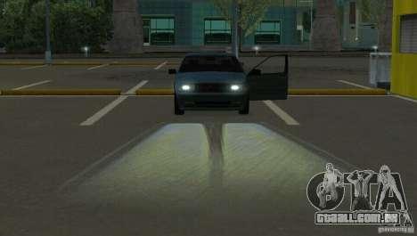 Faróis de halogéneo para GTA San Andreas terceira tela