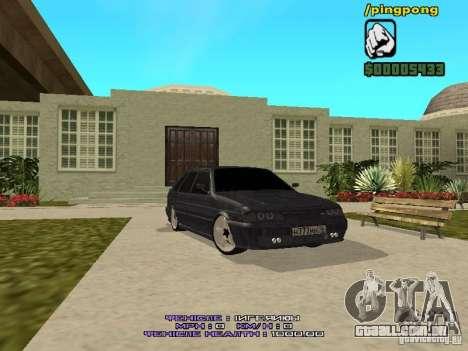 ВАЗ 2114 para GTA San Andreas
