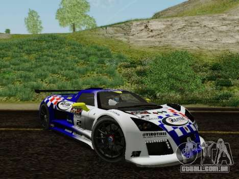 Gumpert Apollo S 2012 para GTA San Andreas vista superior