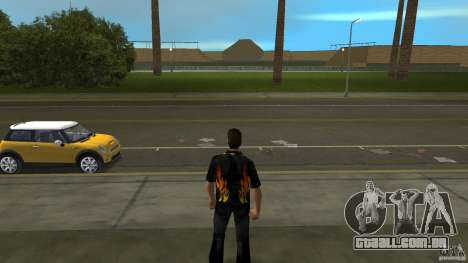 Senhor fogo com jeans čërnimi para GTA Vice City segunda tela