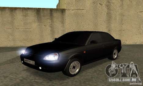 Lada 2170 Priora Pnevmo para GTA San Andreas