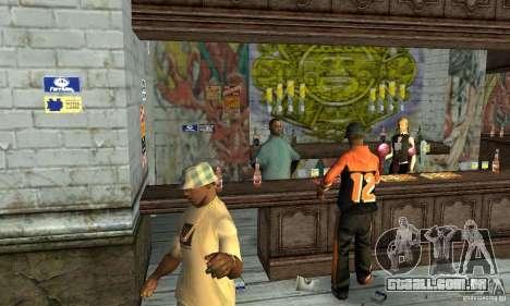 Drunk mod para GTA San Andreas por diante tela