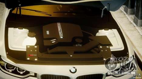 BMW 335i E30 2012 Sport Line v1.0 para GTA 4 vista inferior