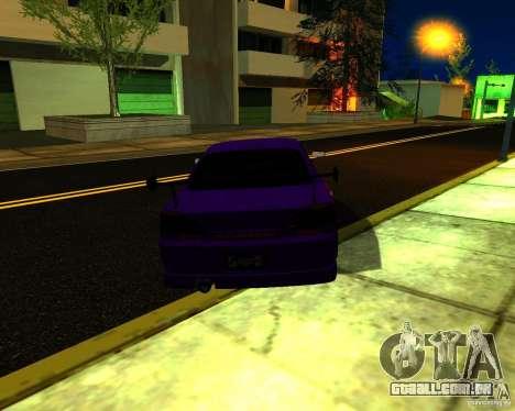 Nissan Silvia C-West para GTA San Andreas vista direita