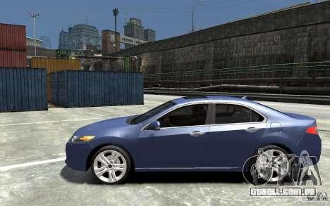 Acura TSX 2011 para GTA 4 esquerda vista