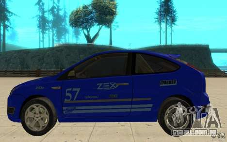 Ford Focus-Grip para GTA San Andreas esquerda vista