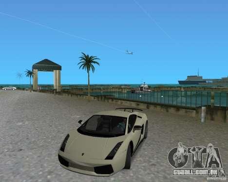 Lamborghini Gallardo Superleggera para GTA Vice City