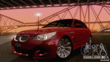 BMW M5 2009 para GTA San Andreas