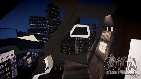Airwolf v1.0 para GTA 4 vista interior