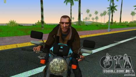 PCJ 600 para GTA Vice City vista traseira
