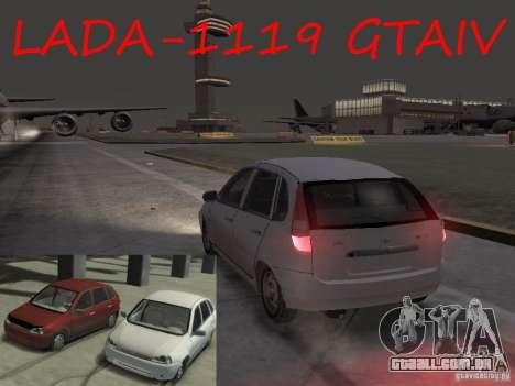 Kalina Vaz-1119 para GTA 4 esquerda vista