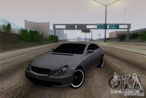 Mercedes-Benz CLS 63 AMG para GTA San Andreas esquerda vista