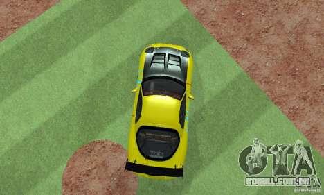 Mazda Rx7 para GTA San Andreas traseira esquerda vista