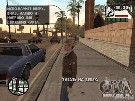 Lucy Stillman in Assassins Creed Brotherhood para GTA San Andreas segunda tela