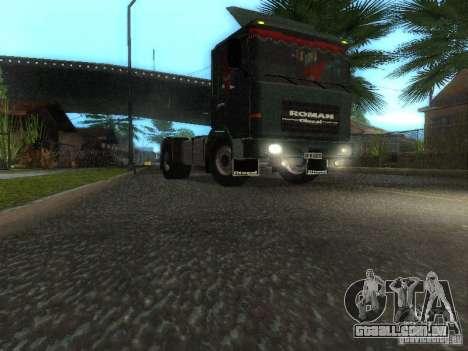 Roman R 10215 FS para GTA San Andreas esquerda vista