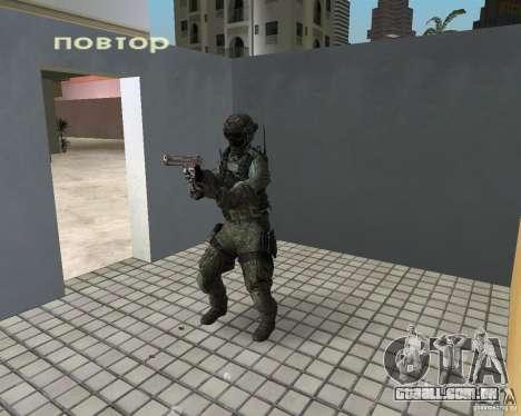 Frost do CoD MW3 para GTA Vice City