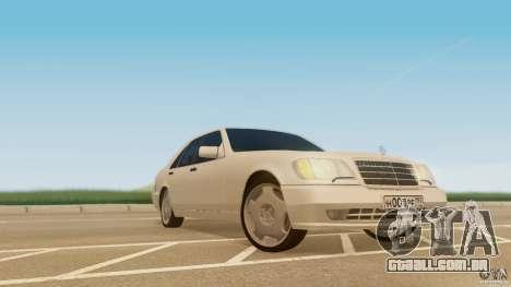 Mercedes-Benz 500SE para GTA San Andreas