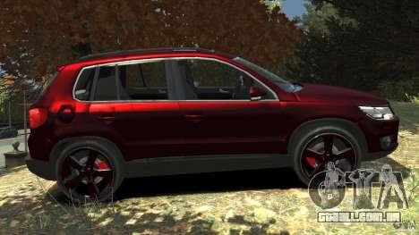 Volkswagen Tiguan 2012 para GTA 4 esquerda vista