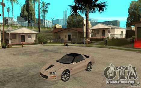 Chevrolet Camaro SS 2002 para GTA San Andreas