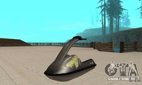 Scooter de água para GTA San Andreas vista direita