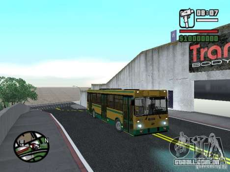 LIAZ 5283.01 para GTA San Andreas vista direita