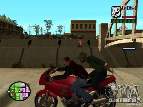 Great Theft Car V1.1 para GTA San Andreas por diante tela