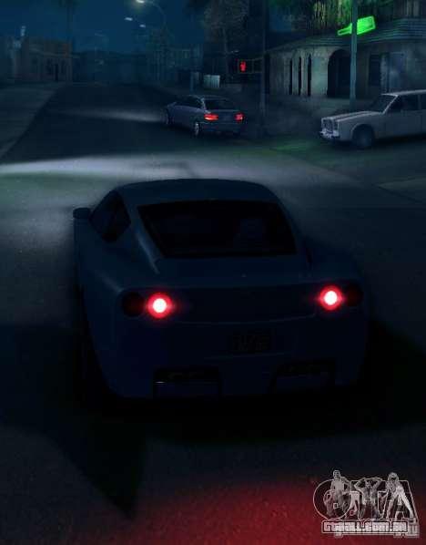 IVLM 2.0 TEST №5 para GTA San Andreas segunda tela