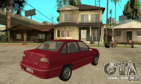 Daewoo Nexia para GTA San Andreas vista direita