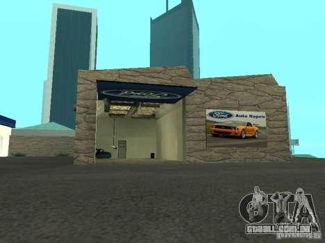 Auto Show Ford para GTA San Andreas segunda tela