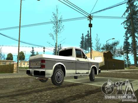 ENBSeries by GaTa para GTA San Andreas por diante tela