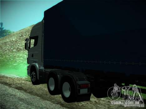 Scania R440 para GTA San Andreas vista interior