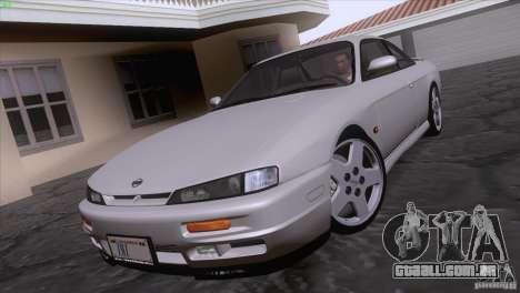 Nissan Silvia S14 Kouki para GTA San Andreas traseira esquerda vista