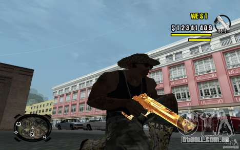 Gold Weapon Pack v 2.1 para GTA San Andreas