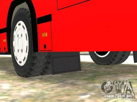 MAZ 5295 v 2.0 final para GTA 4 vista inferior
