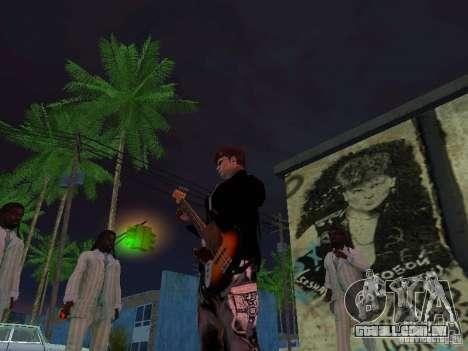 Parede da lembrança George Hoey para GTA San Andreas por diante tela