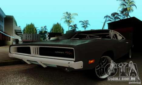 Dodge Charger RT para GTA San Andreas vista superior