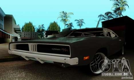 Dodge Charger RT para GTA San Andreas vista superior