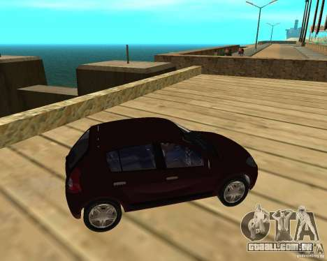 Dacia Sandero 1.6 MPI para GTA San Andreas vista direita