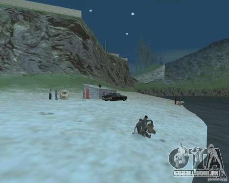 A animada Praia de Palomino Creek para GTA San Andreas