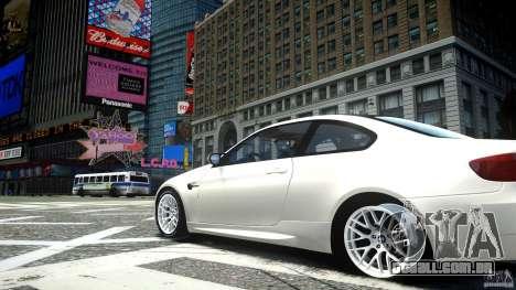 BMW M3 GT-S para GTA 4 vista de volta