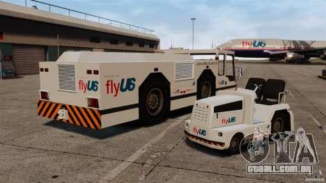 FlyUS Tugs Pack para GTA 4 vista direita