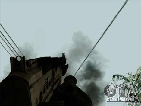 M240B para GTA San Andreas quinto tela